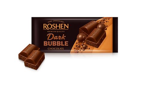 Roshen Dark Bubble Chocolate (80g)