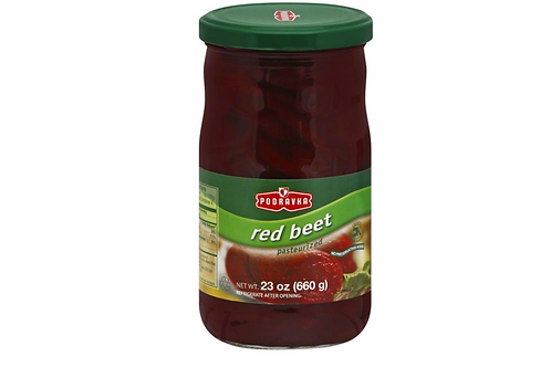 Podravka Pasteurized Red Beets (660g)
