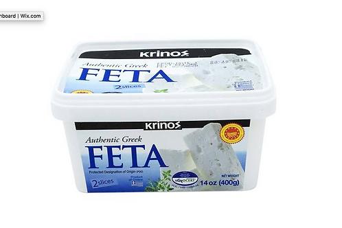 Krinos Greek Feta Cheese 400g