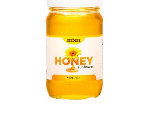 Seesbees Sunflower Raw Honey (450g)