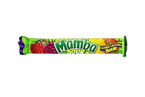 Mamba Sour Chews 18pcs (75g)
