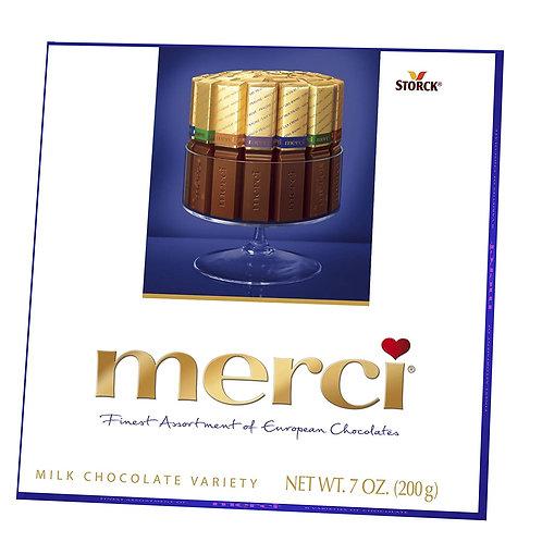 Merci Milk Chocolate Assortment