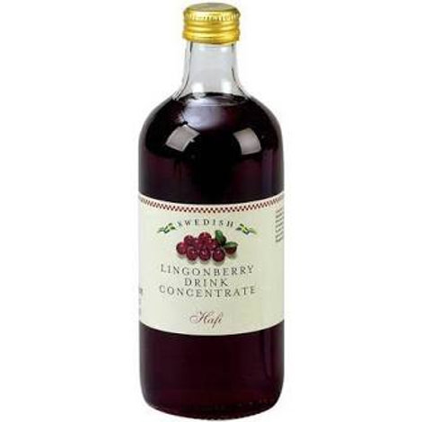 Hafi Swedish Lingonberry Concentrate 500ml