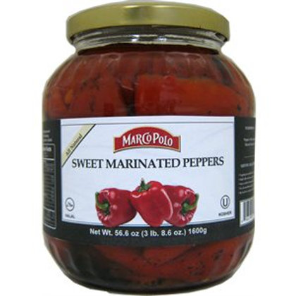 Marco Polo Roasted Peppers w/Garlic (1400g)