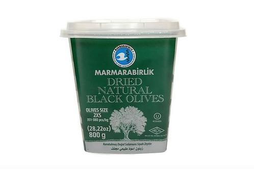 Marmarabirlik Dried Natural Black Olives 2XSmall (800g)
