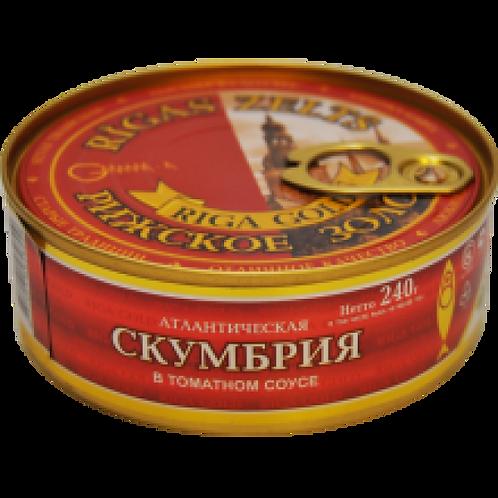 Gamma-4 Mackerel in Tomato Sauce 240g