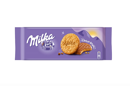 Milka Choco Grain Milk Chocolate Covered Cookie (126g)