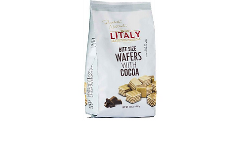 Litaly Cocoa Bite Size Wafers (400g)
