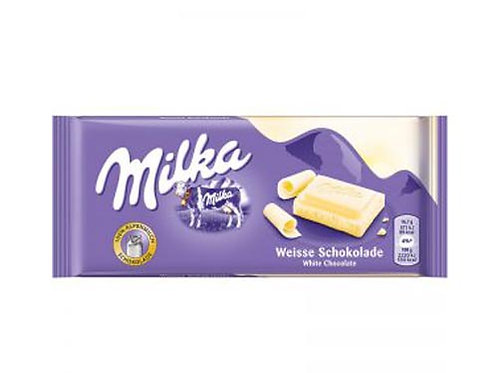 Milk White Chocolate (100g)