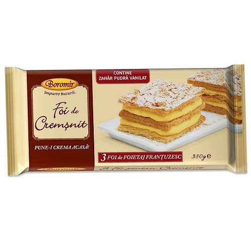 Boromir Pastry Sheets (Foi de Cremsnit) 380g