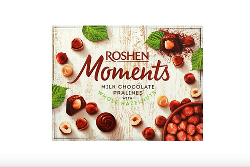 Roshen Moments Milk Chocolate Pralines (116g)