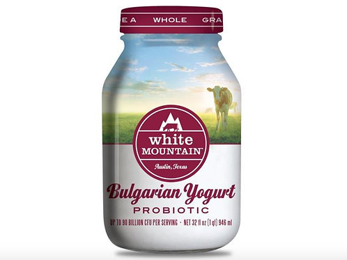 White Mountain Bulgarian Yogurt Probiotic