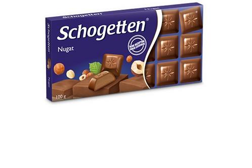 Schogetten Milk Chocolate w/ Nugat (100g)