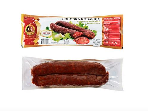George Brand Hickory Smoked Sausage HOT