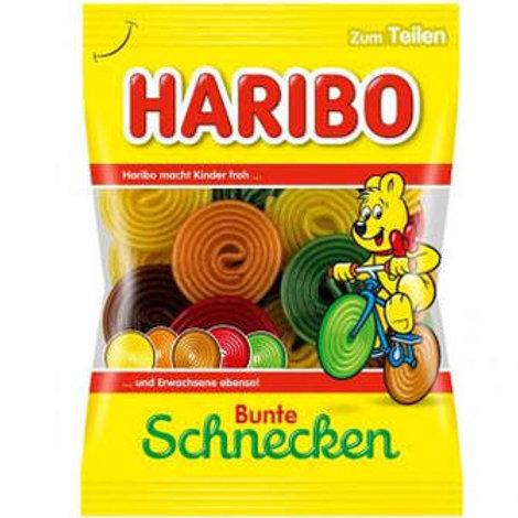 Haribo Bunte Schnecken Gummies 175g