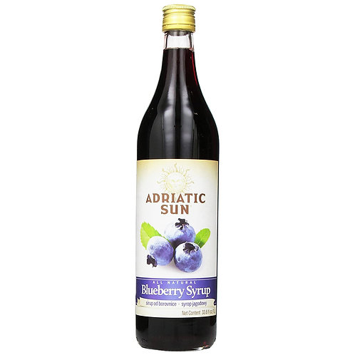 Adriatic Sun Blueberry Syrup 1L
