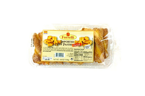 Forrelli Puff Pastry Twists (130g)