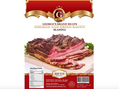 George Brand Hickory Smoked Bacon (Slanina)