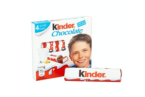Kinder Chocolate 4Bar 50g