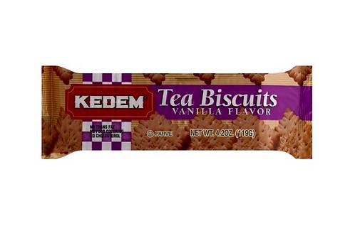 Kedem Tea Biscuits Vanilla Flavor (119g)