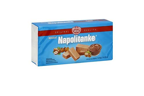 Kras Nougat Napolitanke 420g