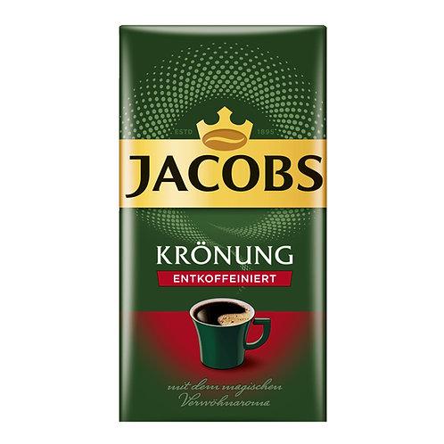 Jacobs Kronung Decaf Coffee Ground (500g)