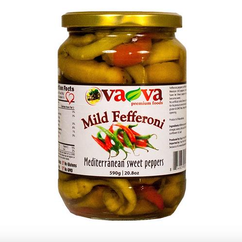 VaVa Mild Fefferoni Mediterranean Sweet Peppers (590g)