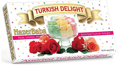 HazerBaba Rose, Lemon, Mint Assorted Turkish Delight (454g)