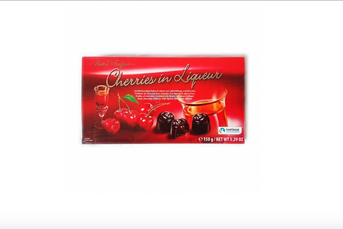 Maitre Truffout Cherries in Chocolate (150g)