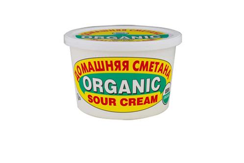 Four Seasons Sour Cream Organic 425g