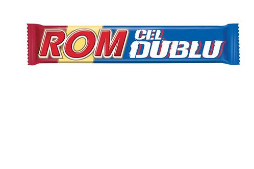 ROM Chocolate Bar w/ Rum Flavored Cream (60g)