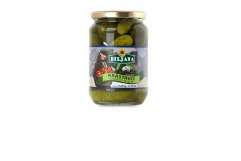 Biljana Crunchy Pickles (680g)