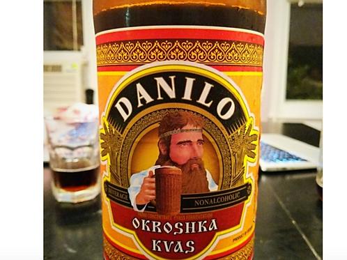 "Kvas Danilo ""Okroshka"" Non-Alcoholic Malt Beverage (2L)"