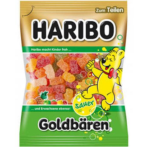 Haribo Goldbaren Sour Gummy Bears (200g)