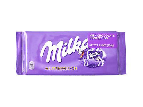 Milka Alpine Milk Chocolate (100g)