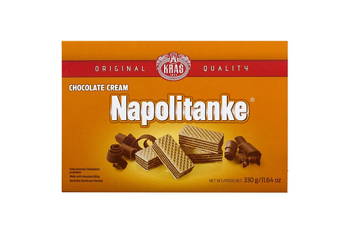 Kras Napolitanke Chocolate Cream Wafers (330g)