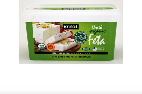 Krinos Greek Feta Organic 400g
