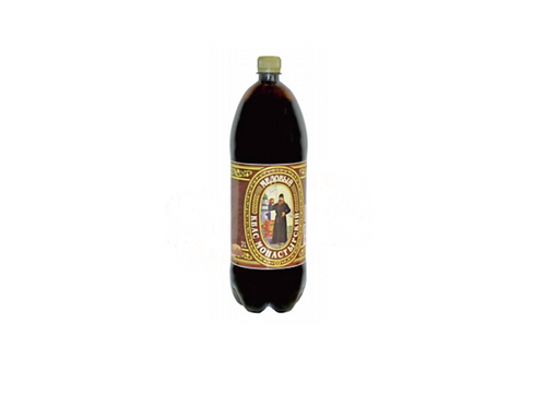 "Kvas Monastyrskiy ""Honey"" Non-Alcoholic Malt Beverage (2L)"