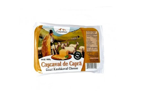 Carpathian Goat Kashkaval Cheese (Cascaval)