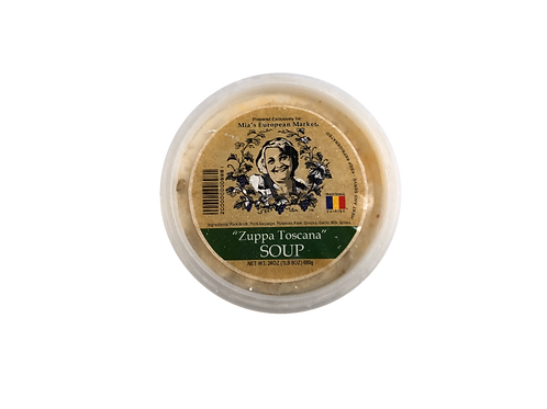 Traditional Cuisine Zuppa Toscana Soup