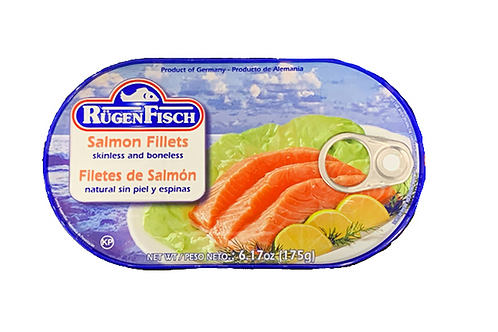 RugenFisch Salmon Fillets Skinless & Boneless (200g)