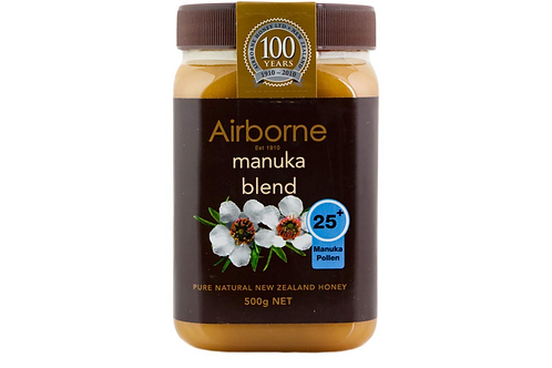 Airborne Manuka Honey 70+ Pure New Zealand Honey (500g)