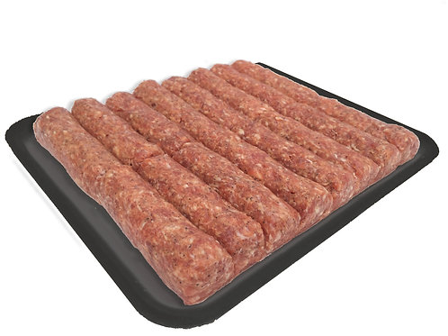 Traditional Cuisine All Beef Mici Tray (16 links)
