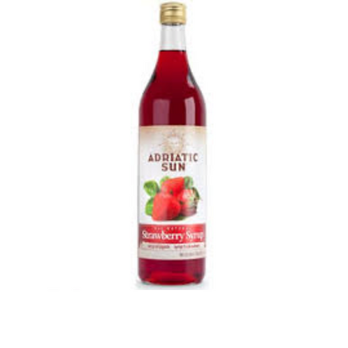 Adriatic Sun Strawberry Syrup 1L