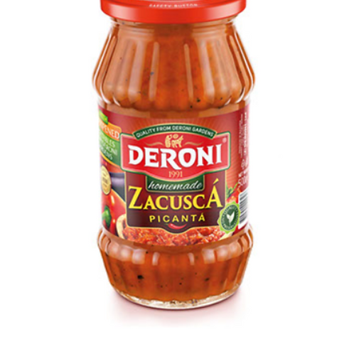 Deroni Homemade Zacusca HOT (500g)