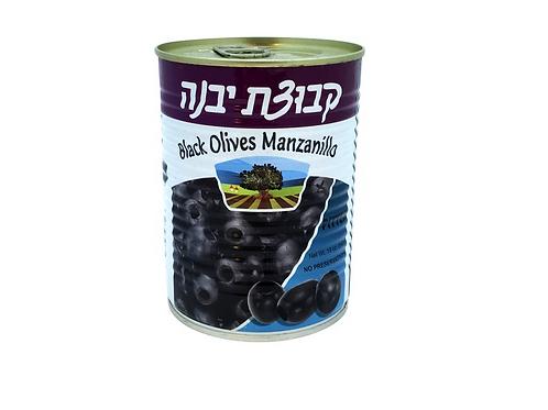 Kvuzat Yavne Black Olives Manzanillo (540g)