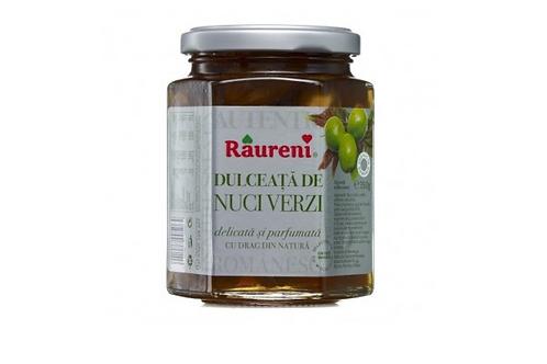 Raureni Young Walnut Preserve Dulceata de Nuci Verzi (250g)