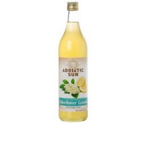 Adriatic Sun Elderflower Lemon Syrup 1L