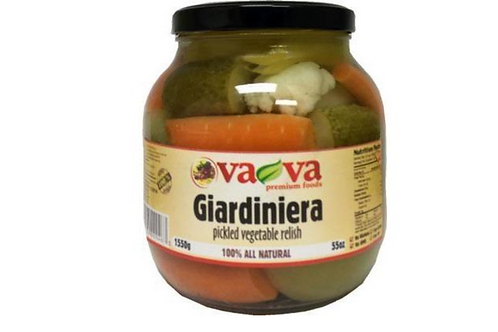VaVa Fire Giardiniera Pickled Vegetable Relish (1550g)