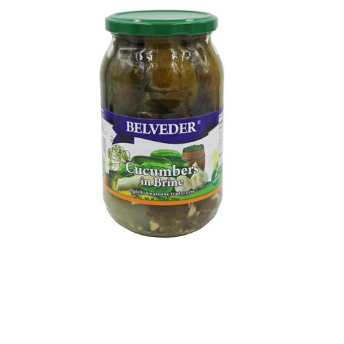 Belveder Cucumbers in Brine (900g)